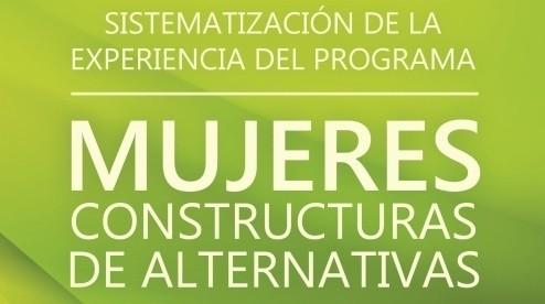 Sistematización Mujeres Constructoras Alternativas (2014)