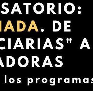 """INVITACIÓN AL CONVERSATORIO """"LA CACHADA. DE BENEFICIARIAS A FACILITADORAS"""""""